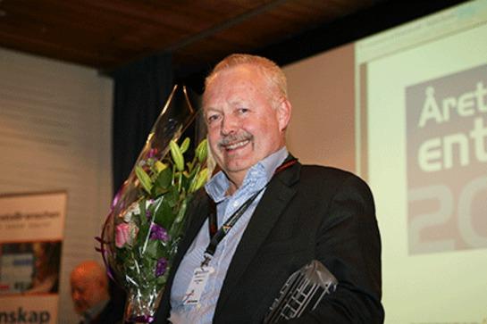 Lars Mattson, vd f�r RCO Security och mottagare av utm�rkelsen