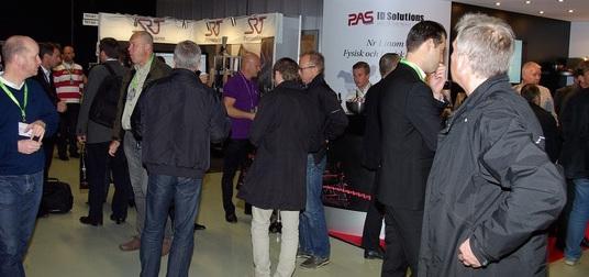 Sist Sectech arrangerades i Stockholm ( 2013 )  kom 2.334 bes�kare.