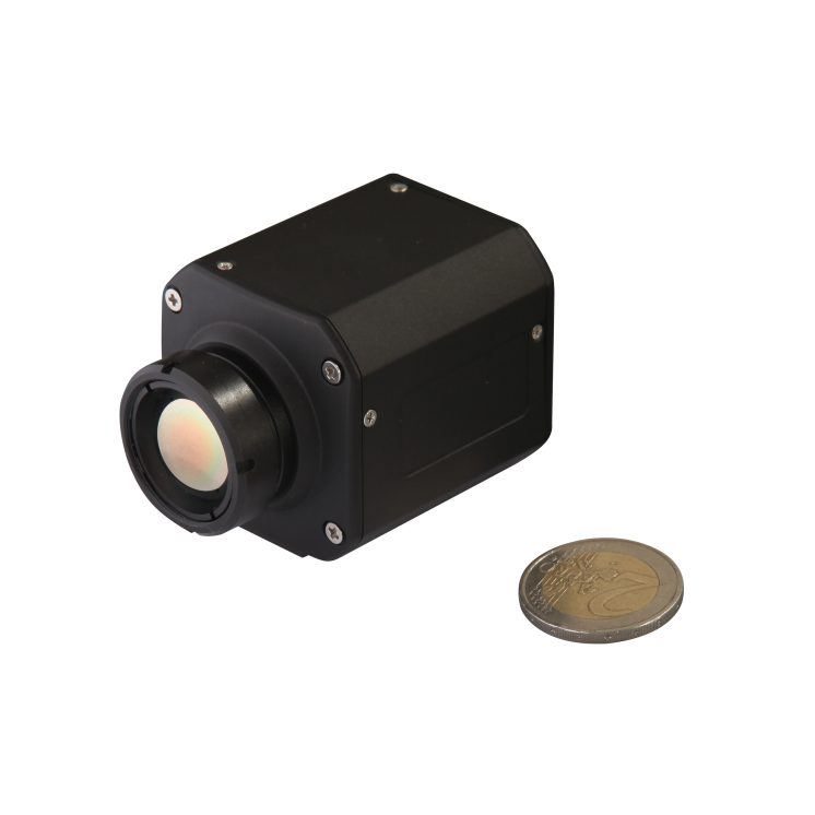 """Värmekameran DON-UPC-T som även innefattar """"äkta"""" temperaturlarm."""