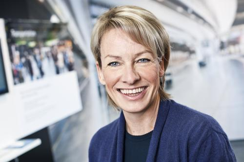 Bodil Sonesson, internationell f�rs�ljningschef vid Axis Communications