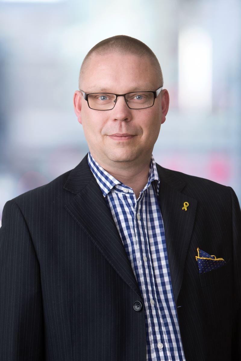 Rikard Fr�ling, s�kerhetschef Locum
