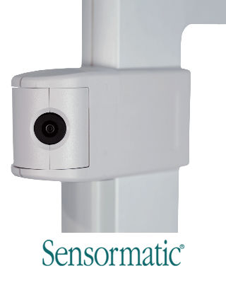 Sensormatic Synergy Camera, en kamera som kan integreras med larmbågar vid butiksutgångar.