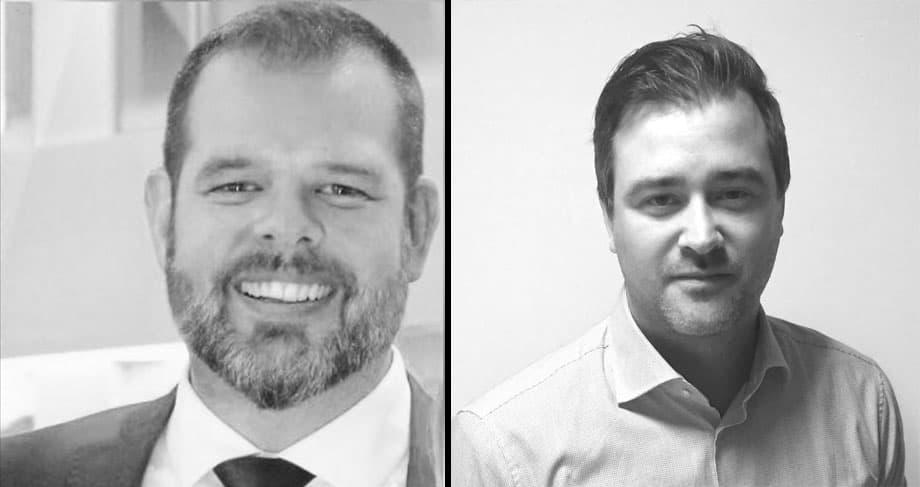 Fredrik Jansson och Fredrik Eriksson, b�da med s�kerhetschefsbakgrund, f�rst�rker Stanley Security.