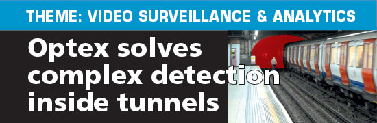 Sensing analytics solves complex detection inside tunnels