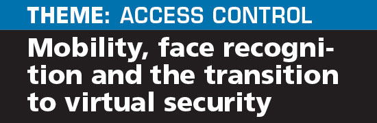 Mobility, biometrics and the transition from physical to virtual security