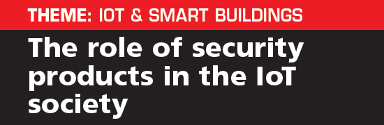 The role of security products in the IoT society